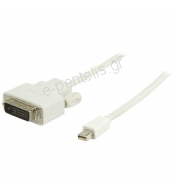 Καλώδιο mini DisplayPort - DVI-D 2.0m.  VLMP37700W 2.00